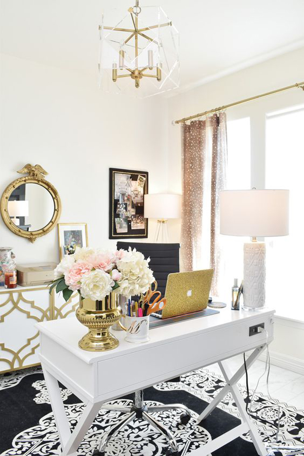 luxury-gold-home-office-design