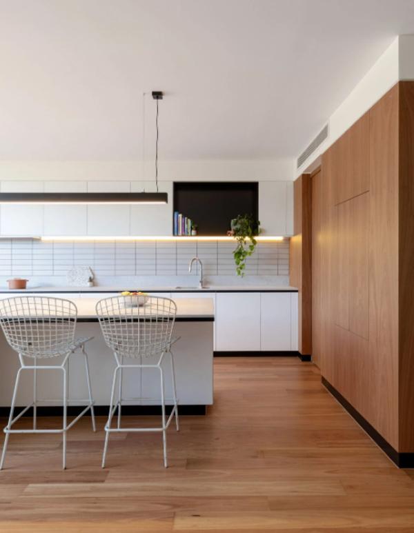 mid-century-wood-kitchen-with-led-light