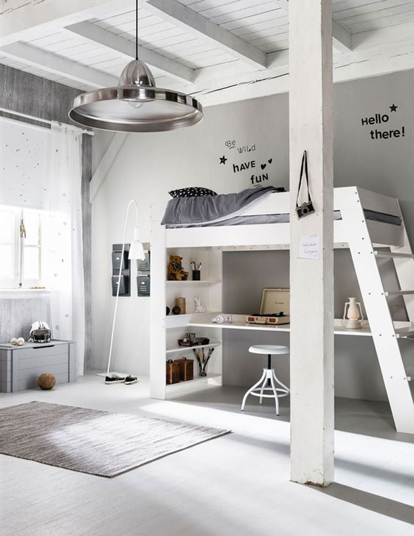 minimalist-loft-bed-for-kids-room