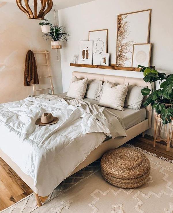 neutral-boho-bedroom-style