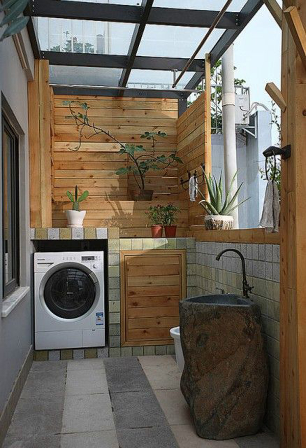 open-wood-laundry-room-decor