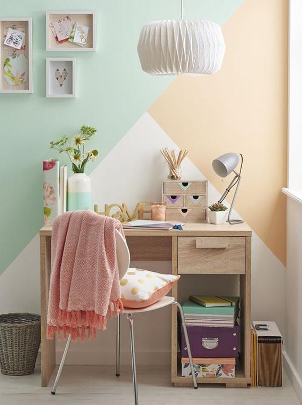 pastel-three-paint-color-for-kids-desk