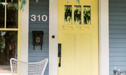 pastel-yellow-front-door-color