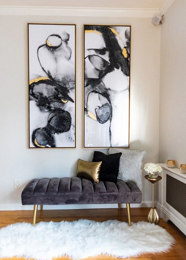 pretty-living-room-decor-with-gold-accent