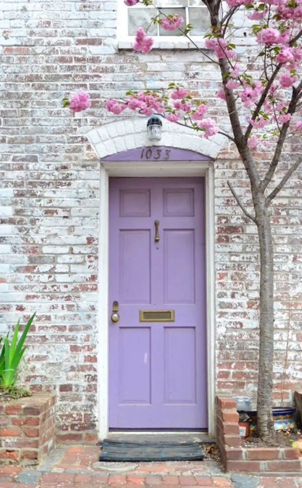 purple-front-door-designs
