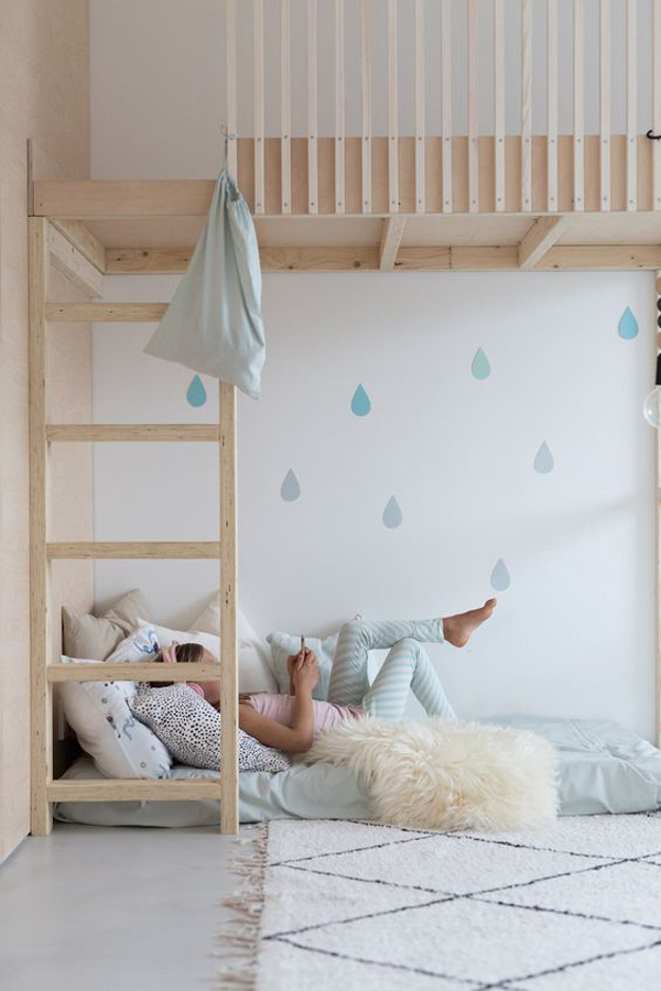 scandinavian-loft-bed-for-kids