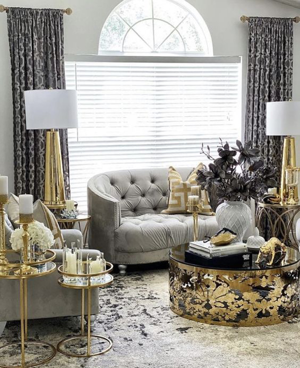 silver-and-gold-living-room-decor