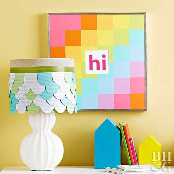 sticky-notes-wall-frame-decor