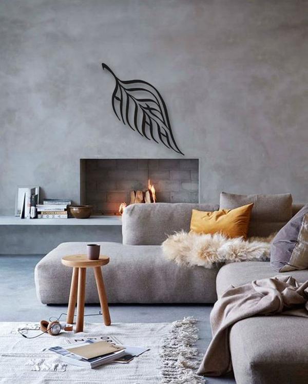stylish-living-room-with-leaf-islamic-metal-wall