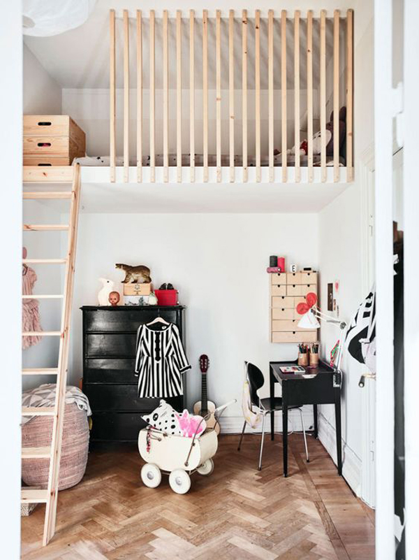 trendy-loft-rooms-for-kid