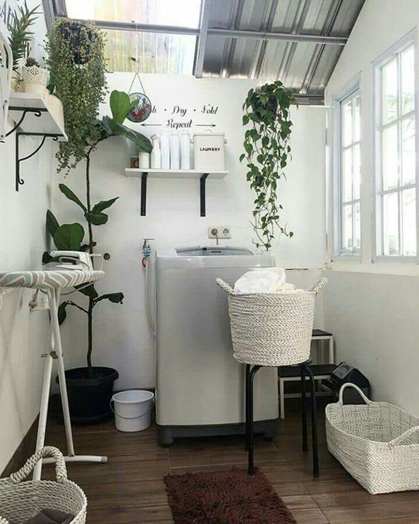 trendy-small-laundry-and-drying-room