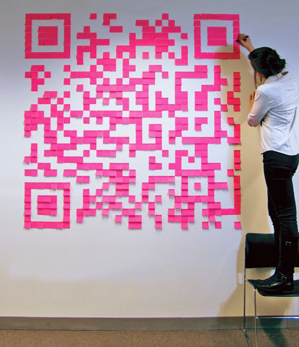 unique-sticky-notes-qr-codes