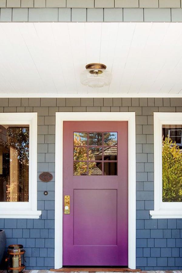 vibrant-purple-front-door-color