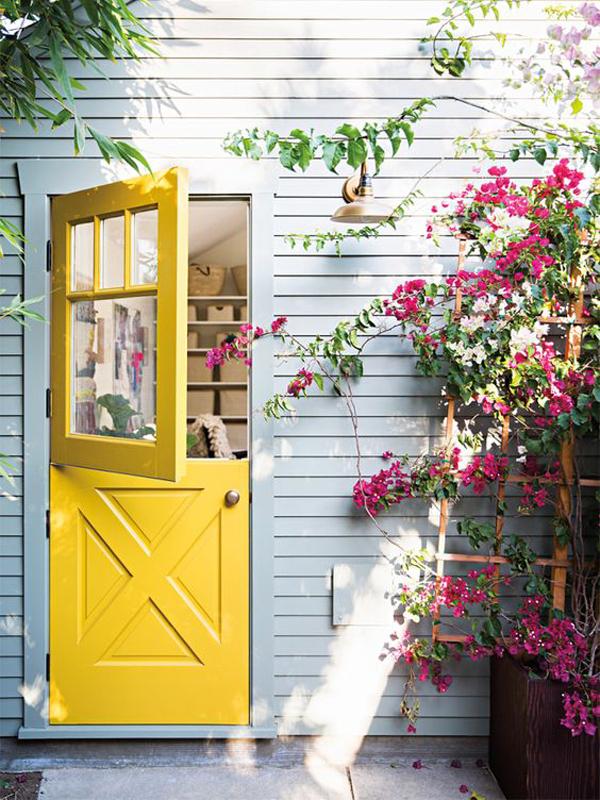 yellow-dutch-front-door-designs
