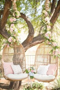boho-chic-floral-tree-swing-seats
