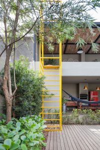 cool-outdoor-stair-design-with-yellow-colors