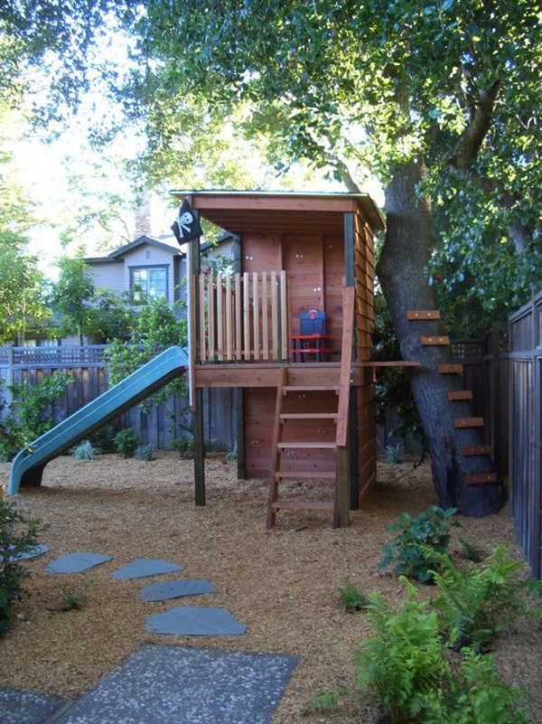cool-treehouses-for-kid-bacyard