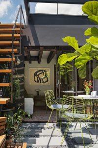 cool-wooden-outdoor-stair-design