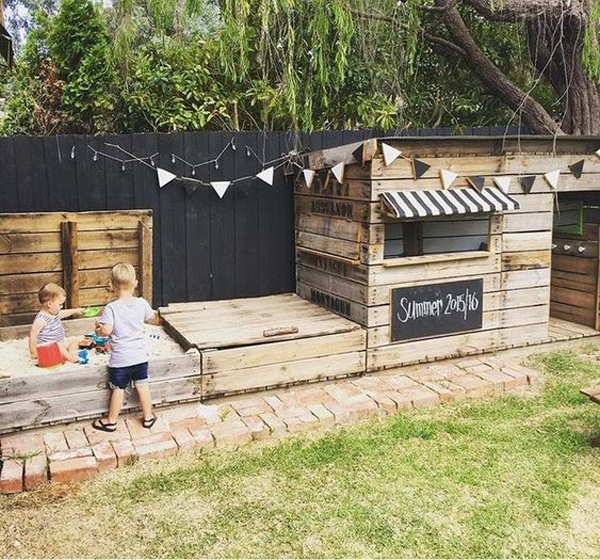 cute-backyard-wood-playground-with-sandbox