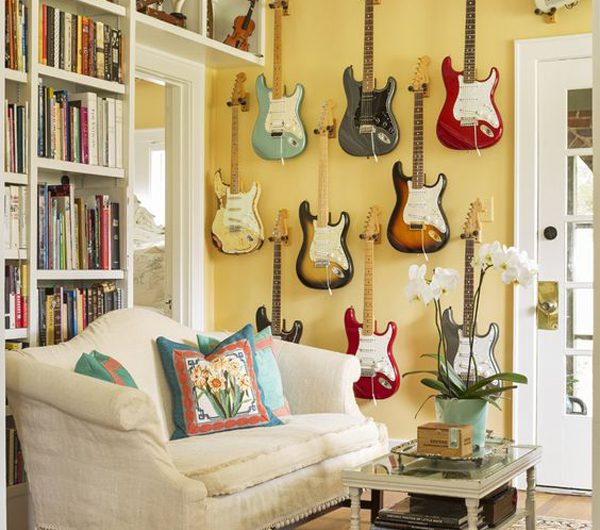 10 Cool Ways To Display Your Guitar Collection