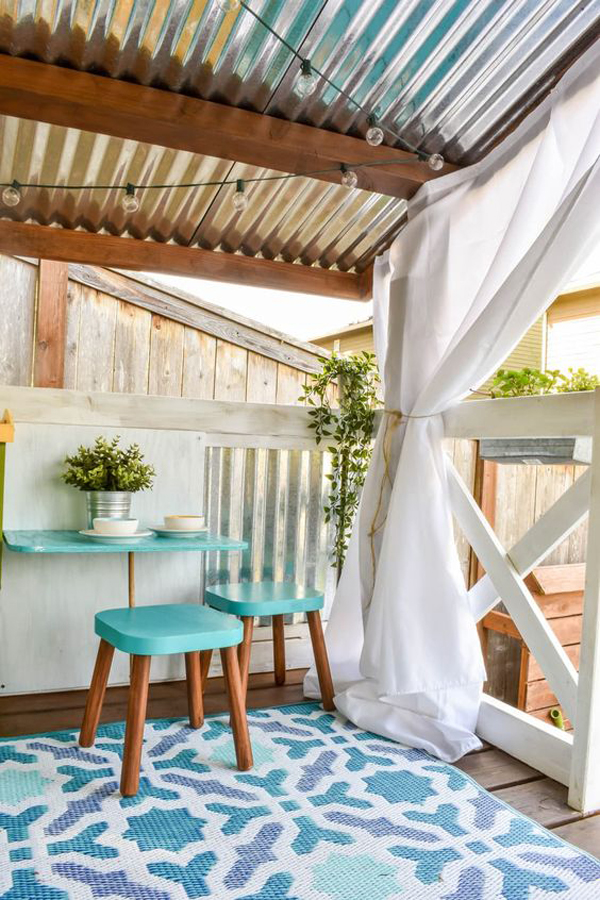 diy-playhouse-makeover-with-reading-nook