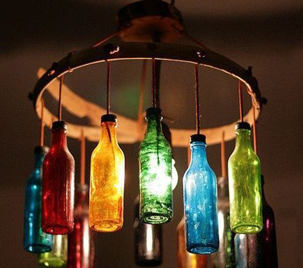 7 Amazing Ways To Recycle Used Bottles Into Decorations