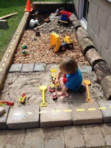 fun-diy-sandbox-and-gravel-design