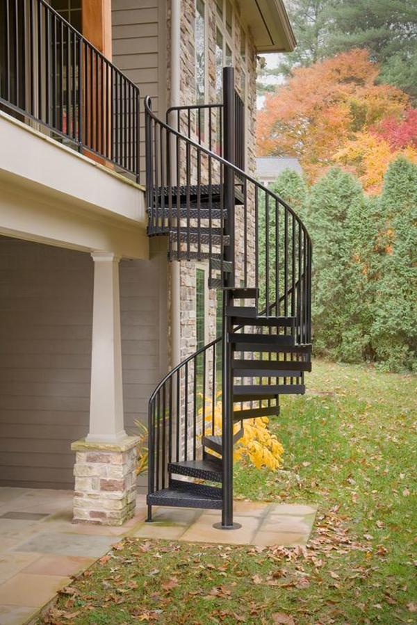 iron-spiral-staircase-design
