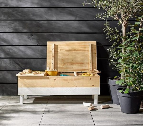25 Creative DIY Sandbox Ideas In The Backyard