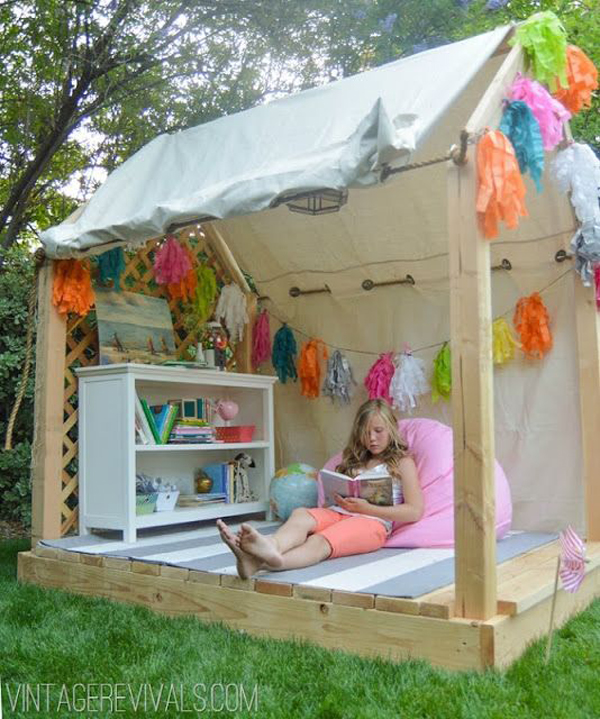 outdoor-summer-reading-nook-for-kids