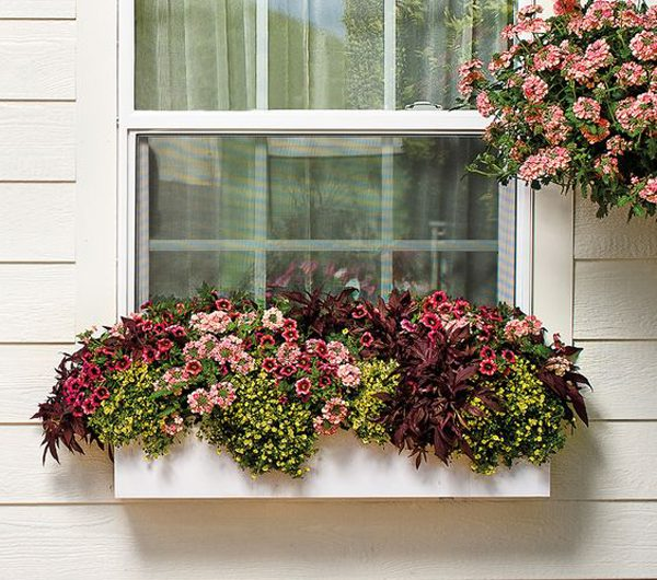 20 Window Flower Boxes Ideas To Beautify Your Outdoor
