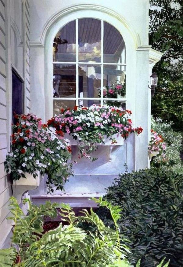 красивые-поделки-двойные-окна-цветочные коробки