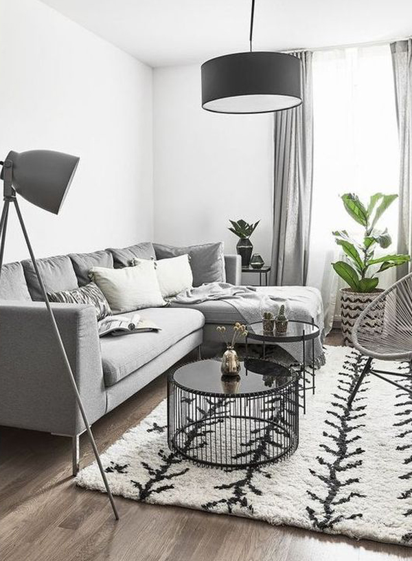 stylish-grey-living-room-with-lights