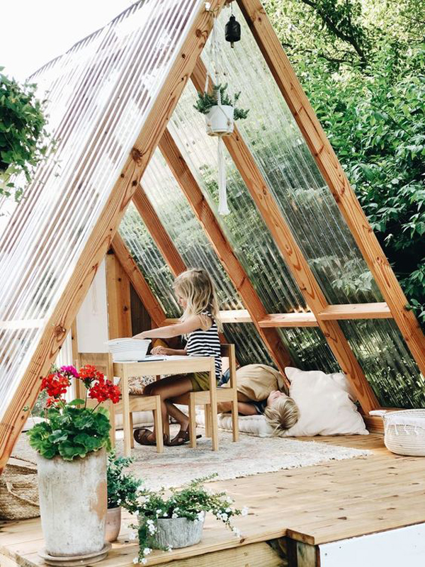 summer-a-frame-playhouse-with-reading-nook
