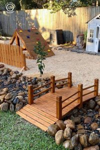 wooden-kid-playground-in-the-backyard