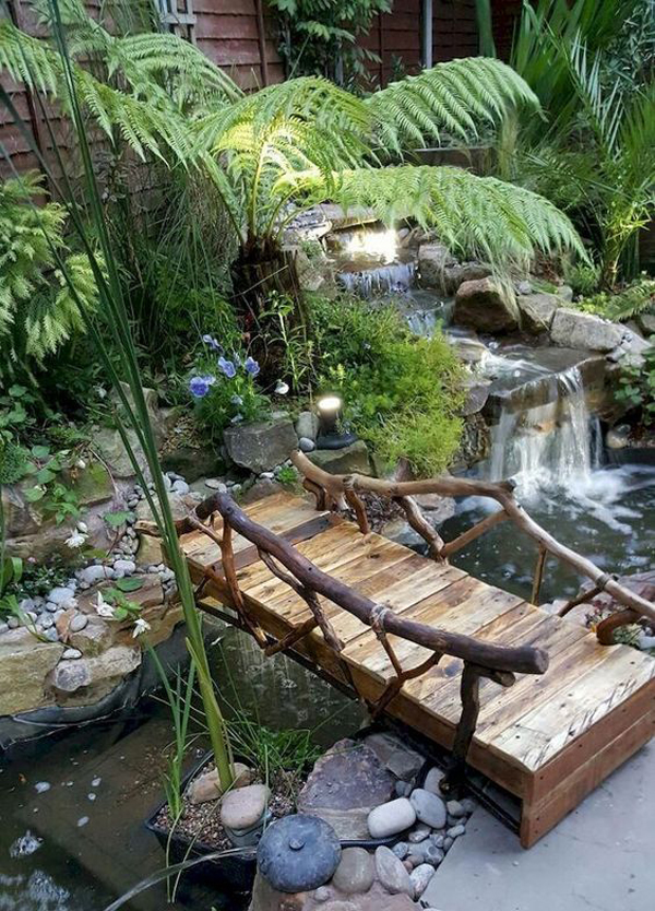 amazing-and-natural-waterfall-garden-with-bridge