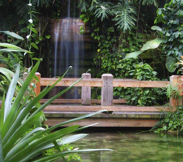 21 Beautiful Garden Bridge Ideas For Backyard