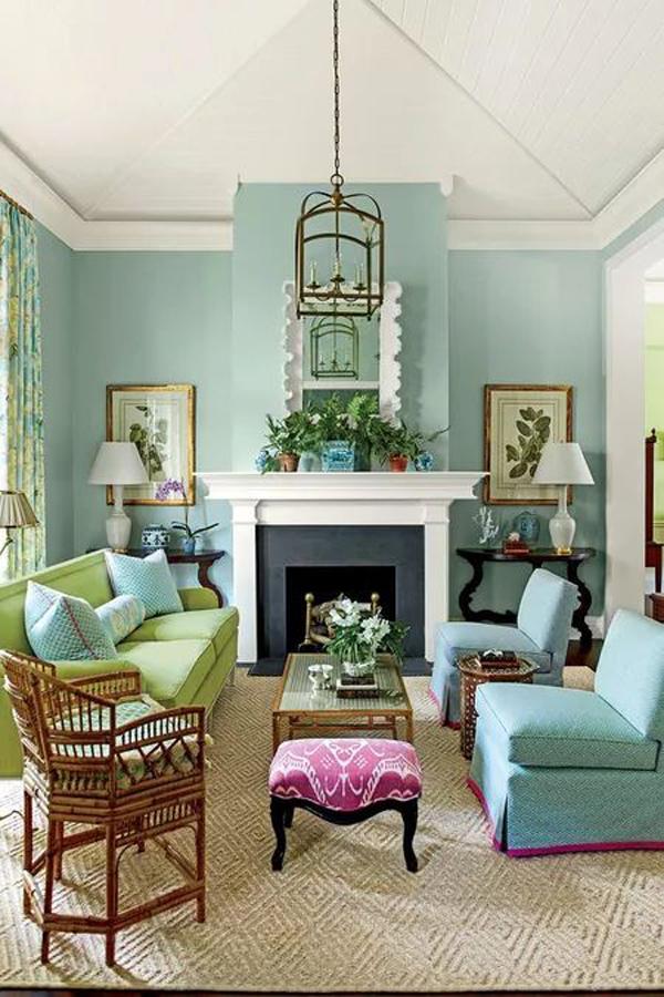 beautiful-turquoise-living-room-decoration