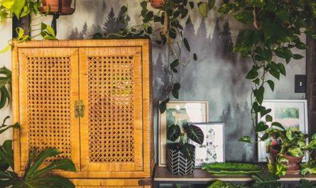 bohemian-jungle-home-office-design