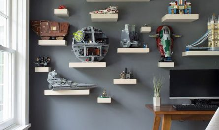 cool-home-office-with-action-figure-wall-display