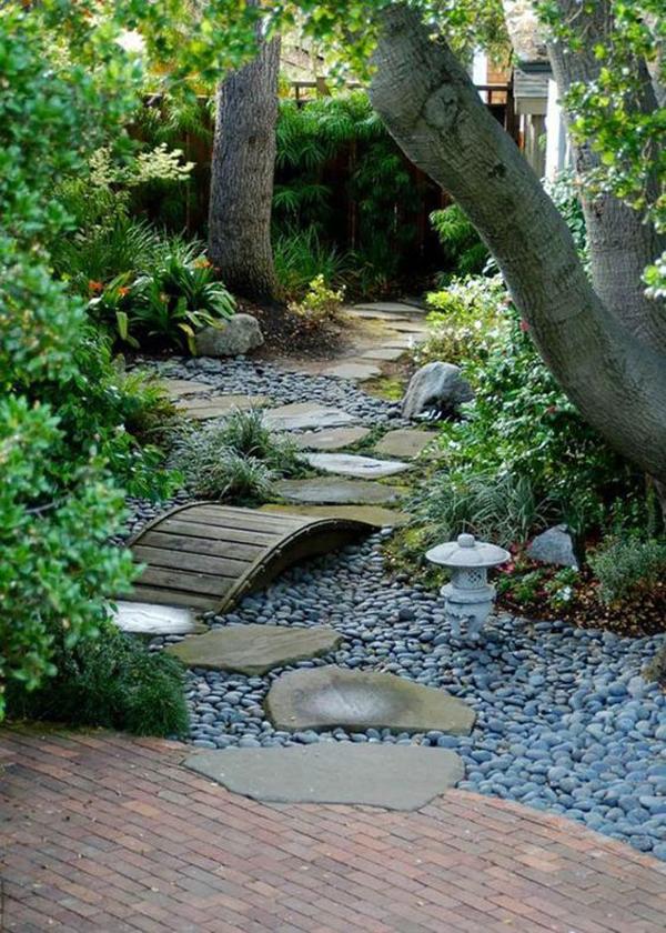 diy-garden-path-with-small-bridge