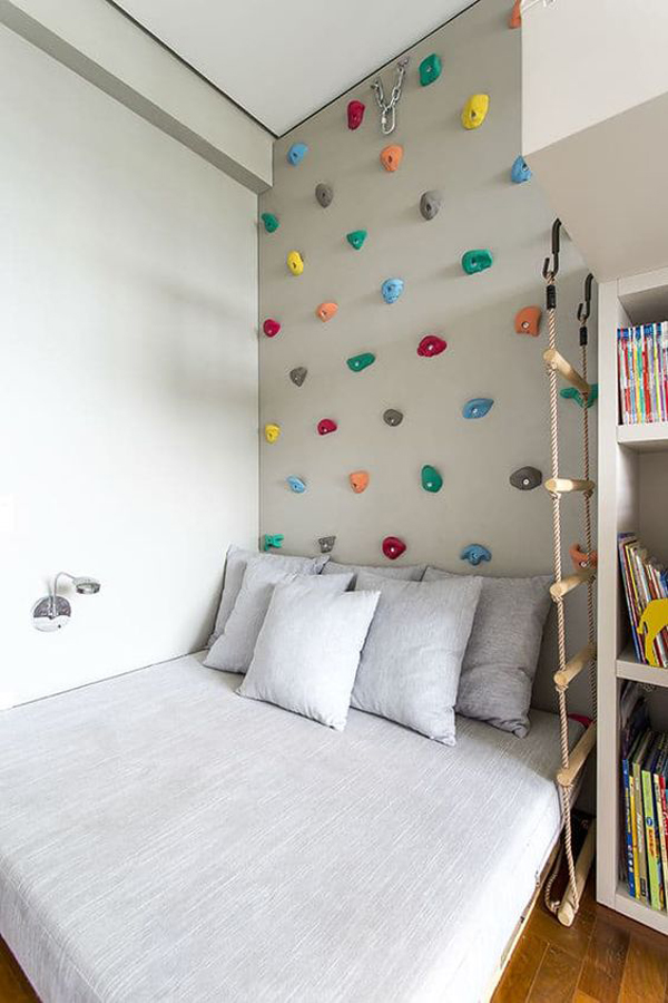 diy-headboard-climbing-wall