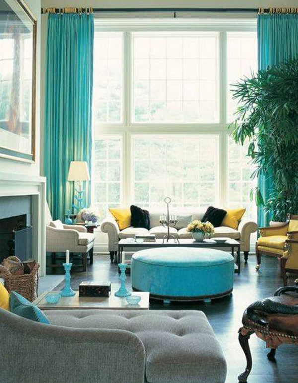 glam-turquoise-living-room-ideas