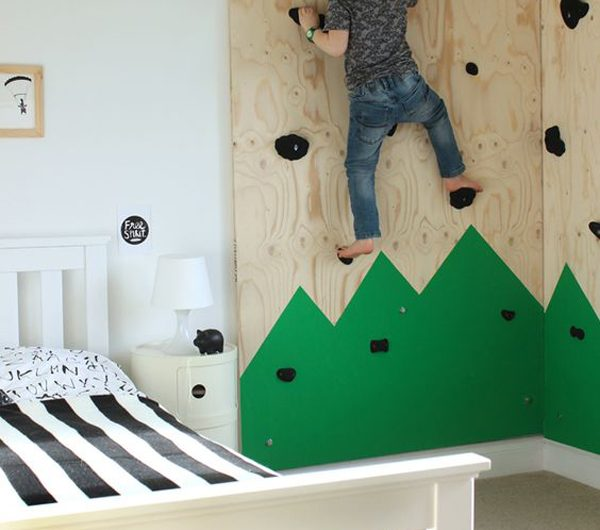 25 Indoor Climbing Wall Ideas For Kids Playground