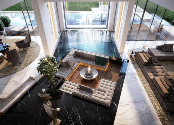 indoor-outdoor-pool-with-round-living-room