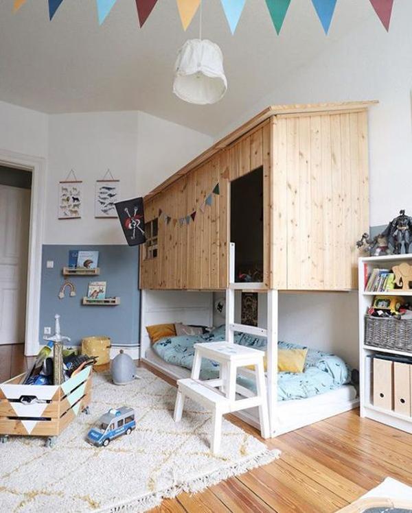 indoor-playhouses-with-kura-bed-hacks