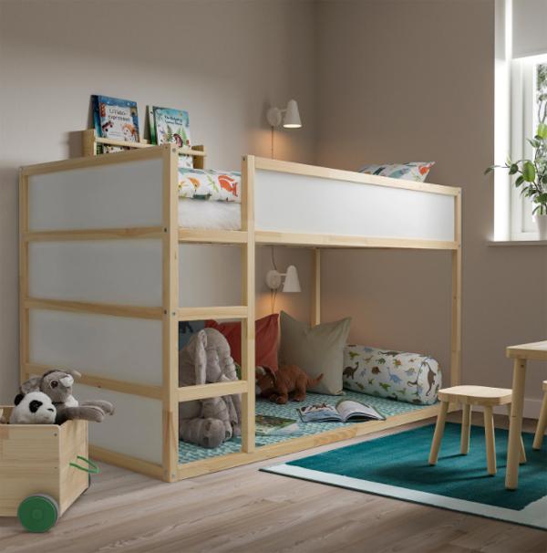 minimalist-wood-ikea-kura-beds