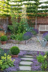 raised-bed-garden-with-gravel-landscapes