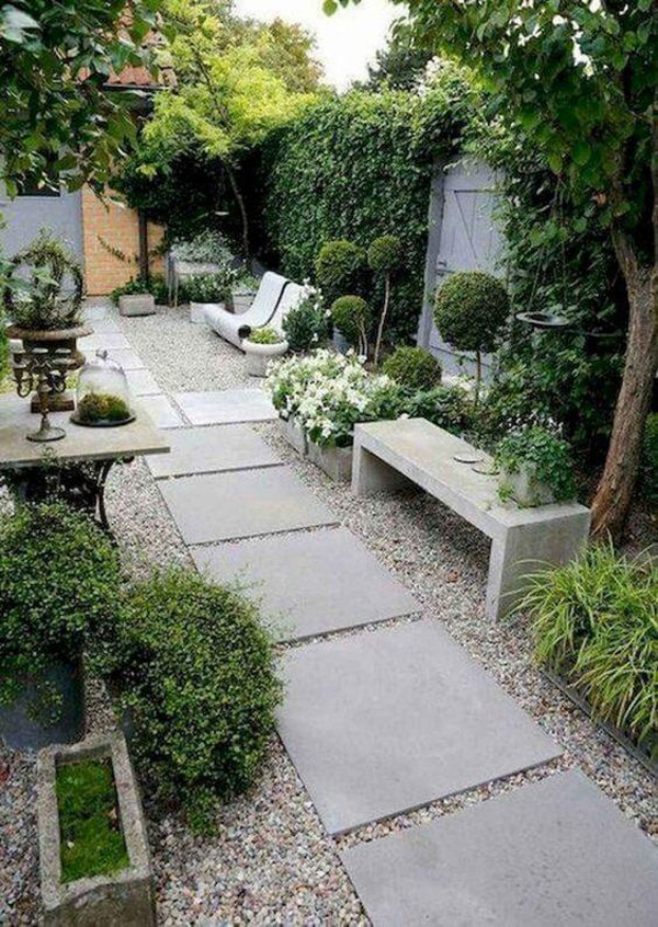 romantic-gravel-landscaping-design