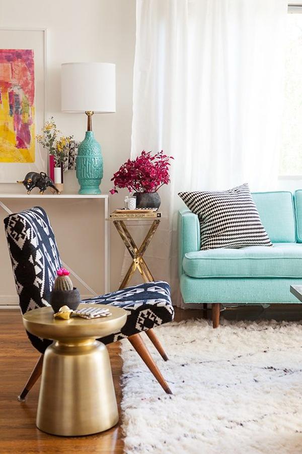 stylish-turquise-living-room-design
